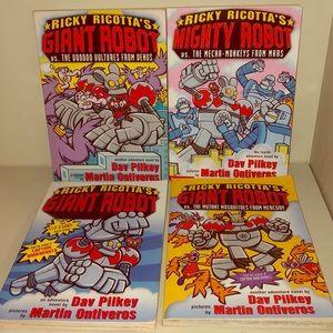 Ricky Ricotta's Giant Robot Series